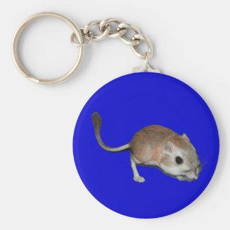 Rata de canguro llavero redondo tipo pin