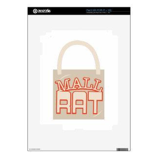 Rata de la alameda calcomanías para iPad 2