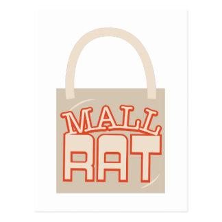 Rata de la alameda tarjeta postal