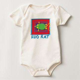 Rata de la manta body para bebé