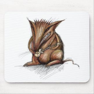 Rata de la roca tapetes de raton