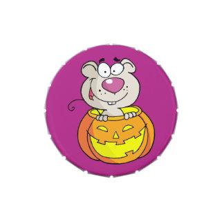 Rata del bebé del remiendo de la calabaza (o ratón frascos de dulces