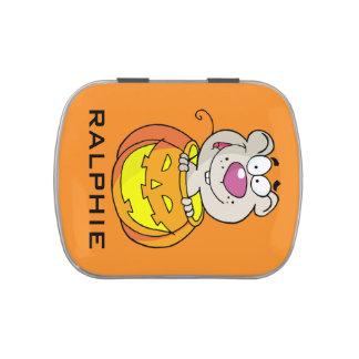 Rata del bebé del remiendo de la calabaza (o ratón jarrones de dulces