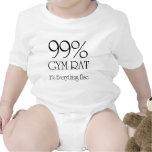 Rata del gimnasio del 99% trajes de bebé