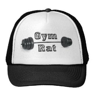 rata del gimnasio gorro