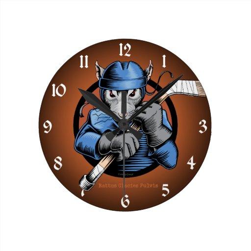 Rata del hockey reloj