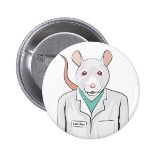 Rata del laboratorio pin redondo 5 cm