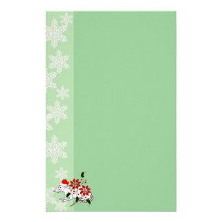 Rata del navidad papelería personalizada