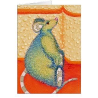 Rata del ratón pero porqué tarjeta de felicitación
