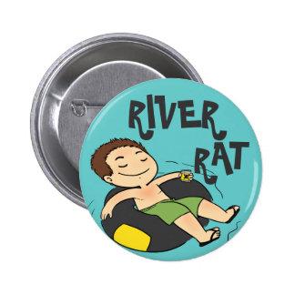 Rata del río pin redondo 5 cm