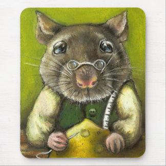 Rata el sastre alfombrillas de raton