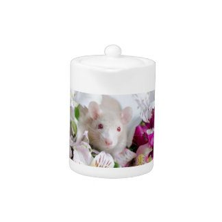 Rata en flores