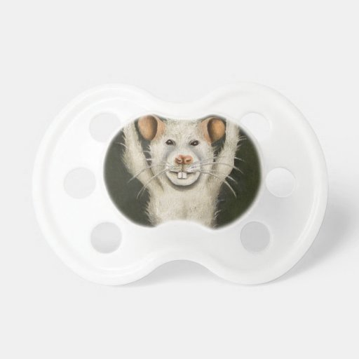 Rata estupenda chupete de bebe