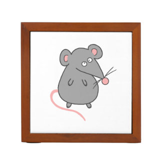Rata gorda portalápices