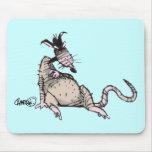 Rata Mousepad Alfombrillas De Ratón
