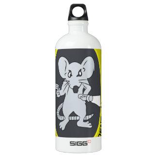 Rata no Gratum Rodentum del túnel Botella De Agua