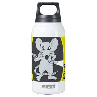 Rata no Gratum Rodentum del túnel Botella Isotérmica De Agua