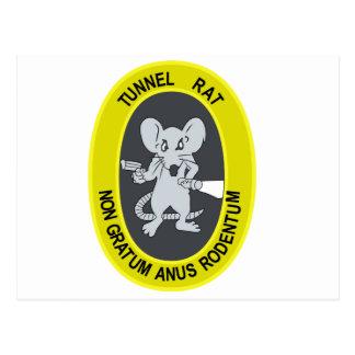 Rata no Gratum Rodentum del túnel Postales
