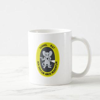 Rata no Gratum Rodentum del túnel Taza De Café