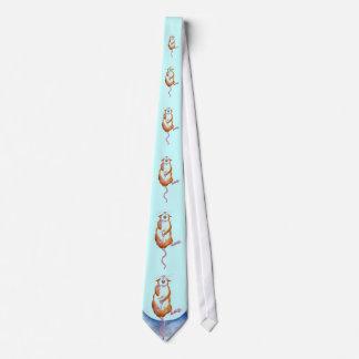 rata que cae en un lazo de la hamaca corbatas personalizadas