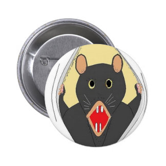 Rata que explota pin redondo de 2 pulgadas