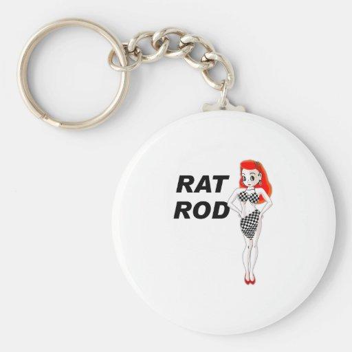 Rata Rod Llaveros Personalizados