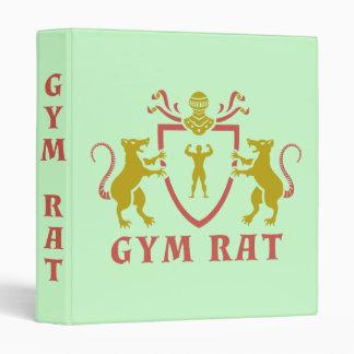 Rata roja y amarilla del gimnasio
