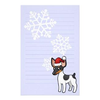 Rata Terrier del navidad/fox terrier de juguete Papeleria