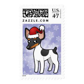 Rata Terrier del navidad/fox terrier de juguete Sello