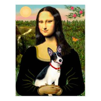 Rata Terrier - Mona Lisa Tarjetas Postales