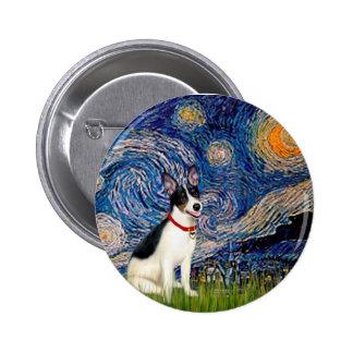 Rata Terrier - noche estrellada Pins