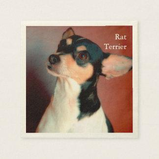 Rata Terrier Servilletas Desechables