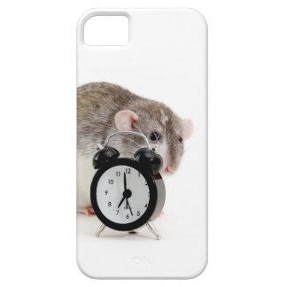 Rata y despertador. iPhone 5 carcasa