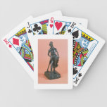 Ratapoil, c.1850 (bronze) bicycle playing cards