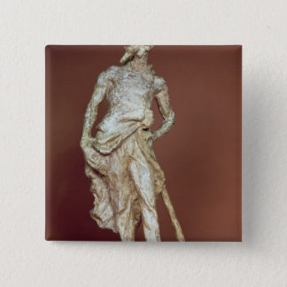 Ratapoil, toned plaster sculpture button