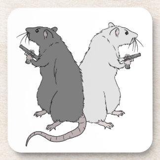 Ratas con el AGCS Posavasos De Bebida