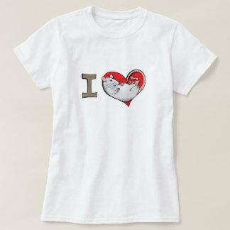 Ratas del corazón I (albino) Camisas