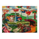 Ratas medievales y ángeles de la plaga del kitsch  tarjetas postales