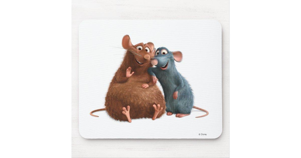 Ratatouille Emile And Remy Disney Mouse Pad Zazzle Com