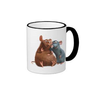 Ratatouille - Emilio y Remy Disney Taza De Dos Colores