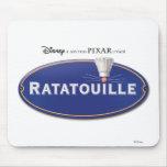 Ratatouille Logo Disney Mouse Pad
