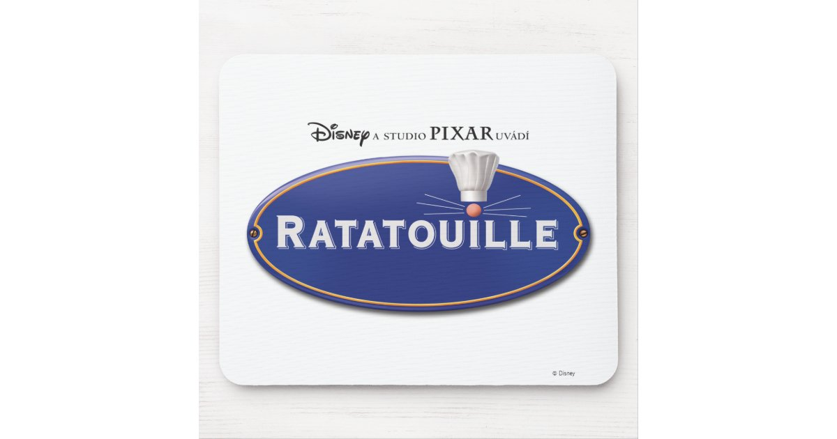 ratatouille logo disney mouse pad zazzle