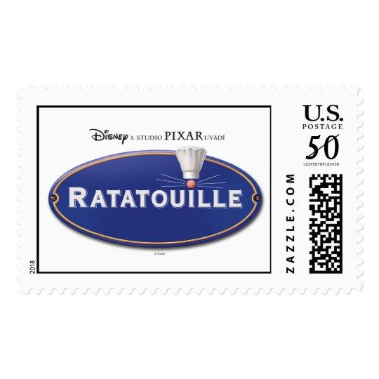 Ratatouille Logo Disney Postage