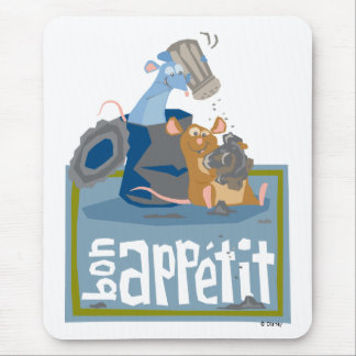 Ratatouille Mouse and Rat Disney Mouse Pad