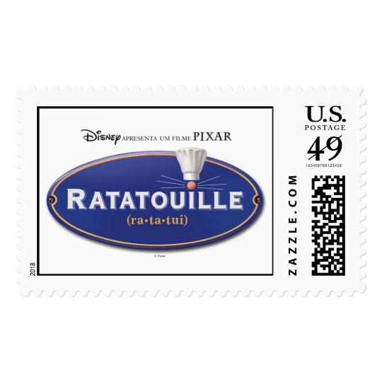 Ratatouille Movie logo Design Disney Postage