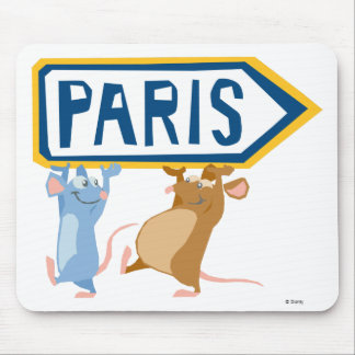 Ratatouille Remy and Emile Disney Mouse Pad