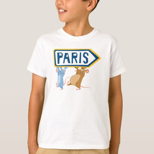 Ratatouille Remy and Emile Disney T_Shirt