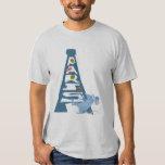 Ratatouille Remy by Eiffel Tower Disney T-shirts
