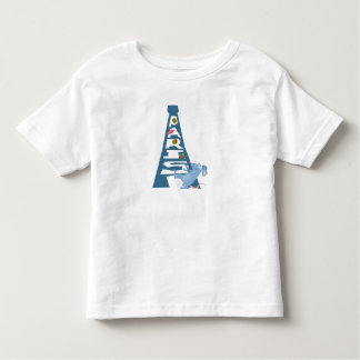 Ratatouille Remy by Eiffel Tower Disney Toddler T-shirt