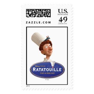 Ratatouille Remy Design Disney Postage Stamp